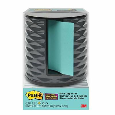 Post-it Note Dispenser Vertical Black with Grey ABS-330-B
