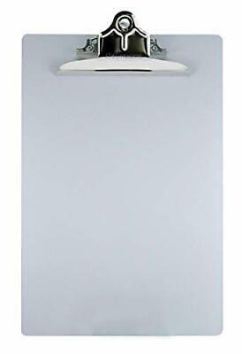 Saunders Aluminum Clipboard with Clip 8.5 x 12 in