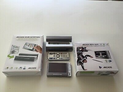 Archos 604 wifi digital media player and DVR station