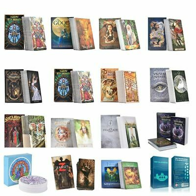 Guidance Divination Tarot Cards Fate Deck Board Games With Colorful Box Family