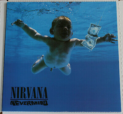 Nirvana - Nevermind Red Vinyl LP - Unplayed