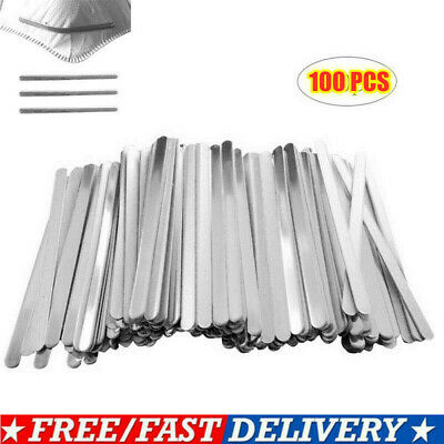 100X 90mm Aluminum Strip for Face DIY Making Accessories Nose Bridge Crafting US