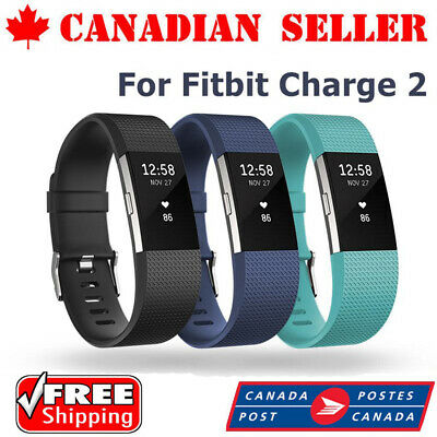 High Quality Silicone Replacement Band For Fitbit Charge 2 Clasic Wrist Bracelet