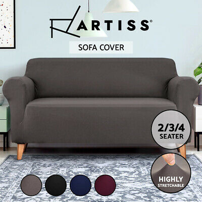 Artiss Sofa Cover 1 2 3 4 Seater Elastic Stretch Couch Covers Slipcover Recliner