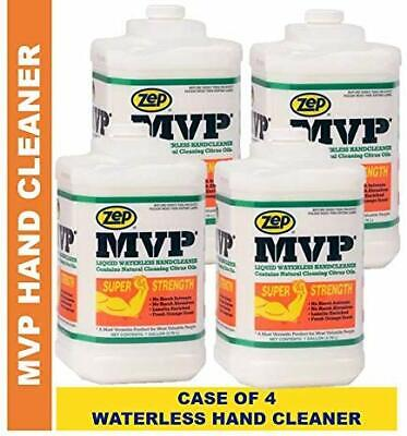 Zep MVP Waterless Hand Cleaner 092703 128 Oz (Case of 4) Pro Formula