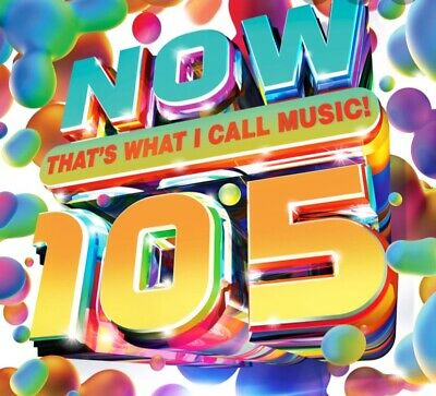 now that what i call music 105 [2020] [CD] Brand New Pre-order