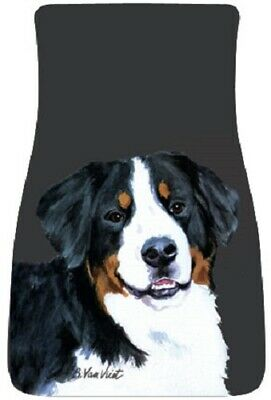 Bernese Mountain Dog Car Floor Mats Pair (BVV) 21051