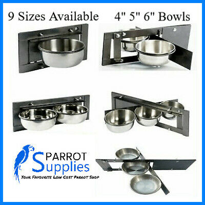 Parrot-Supplies Swing Feeders 9 Different Sizes - Aviary Swing Feeders Parrots