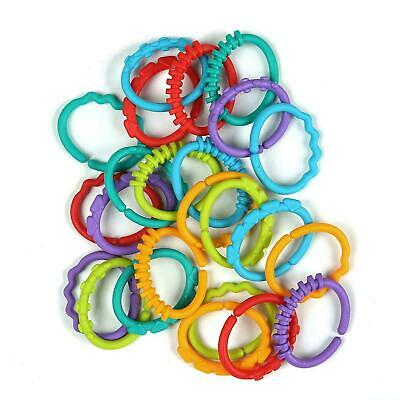 AtoZ Lots Of Links 20pcs 0months+ Baby Teething Rings Toy Rattle Girls & Boys