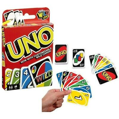 UNO Card Game 108 CARDS Great Fun Children Friend Family Party Travel UK Seller