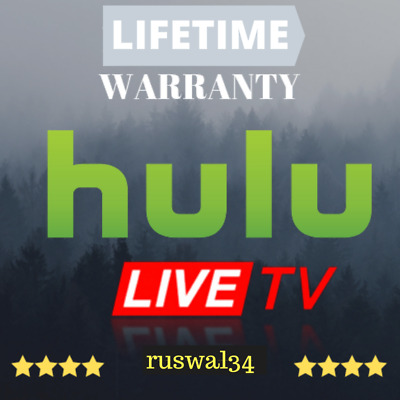 SALE!📺 HULU LIVE TV - Premium Account | LIFETIME Subscription | + Warranty +