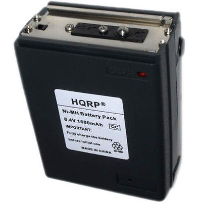HQRP Batteria Per Icom BP-8 CM-8 A2 A20 A21 M2 M5 M11 M12 Due Way Radio