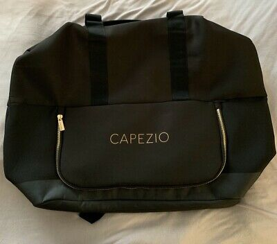 capezio dance bag, can be worn as a backpack, black, polyester, new condition