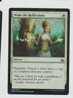 Wake the Reflections FOIL Modern Masters 2017 NM White Common CARD ABUGames
