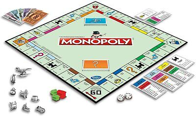 [Cheap&Fast Ship] MONOPOLY Classic Edition Classic 2-6 Players Family Board Game