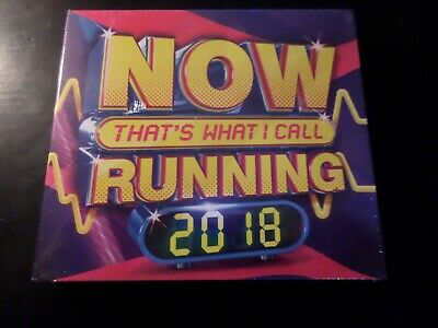 Cd Triple Album - Now Thats What I Call Running 2018 - New And Sealed