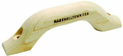 MARSHALLTOWN The Premier Line 16M 9-Inch by 1-1/4-Inch Wood Float Handle