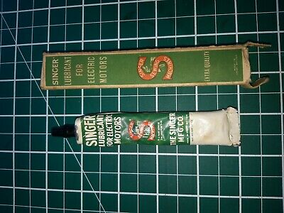 vintage singer sewing machine lubricant for electric motors
