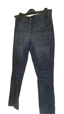 Next Boys Denim Skinny Jeans Age 12 Yrs ripped height 152 stretch