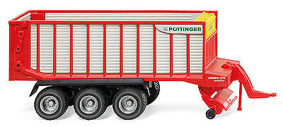 Wiking NEW HO 1//87 Scale Pöttinger 3-axle Jumbo 7210 Combine Loader Wagon