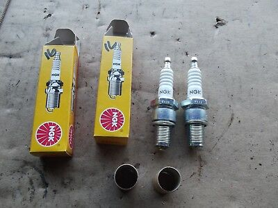 Yamaha Rd250 Spark Plugs, Ngk. New 16