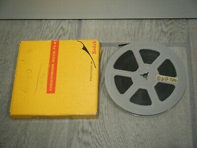 "Vintage 8mm Adult Film Stag Bedtime Girl 5"" Reel Movie B&W 1950s"
