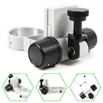 76mm Industrial Stereo Microscope Adjustment Arm Head Holder Bracket Ring US TOP