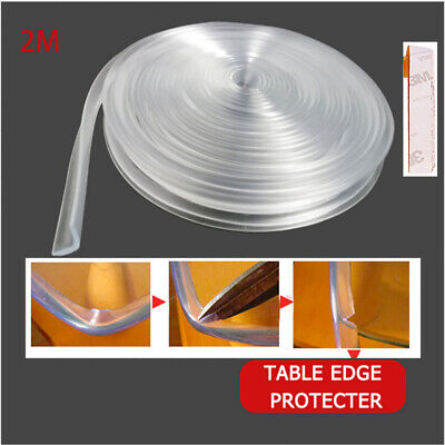 2M Baby Table Corner Edge Strip Protector Child Safe Good Guard Protection Cover