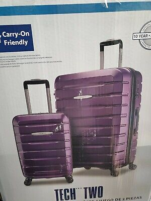 "Samsonite Tech 2.0 2-Piece Hardside Set, w/ one 27"" Spinner and one 21"" Spinner"