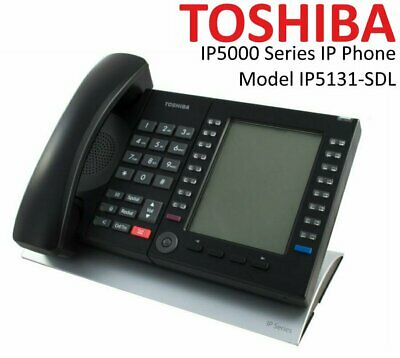 Toshiba IP5131-SDL 20-Button Backlit Display PoE IP Phone BRAND NEW Original Box