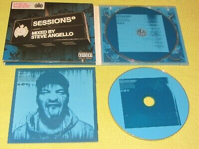 MOS Sessions Mixed by Steve Angello 2 CD Album Dance House Swedish ft Moby MINT