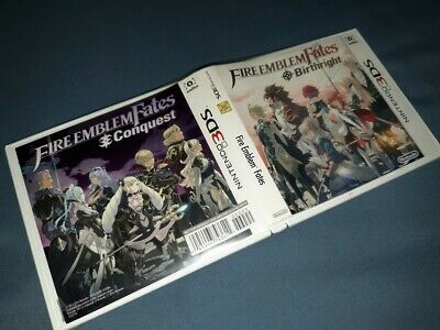 CASE ONLY! Fire Emblem Fates: Special Edition (3DS, 2016) NO GAME! RARE!!!!!!!!!