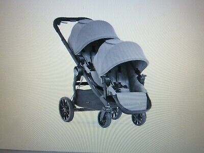 Baby Jogger City Select LUX Double Stroller | Includes Second Seat | Double Baby