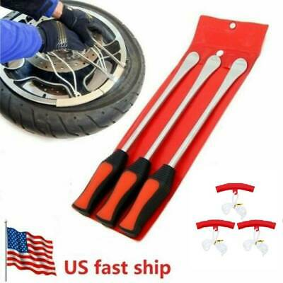 6 in 1 Tire Changing Tool Set Kit Tire Spoon Lever Tools Rim Protectors for Car