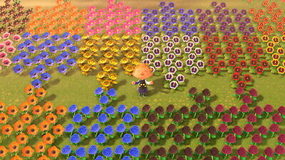 Animal Crossing New Horizons Leif Bushes and Flowers!