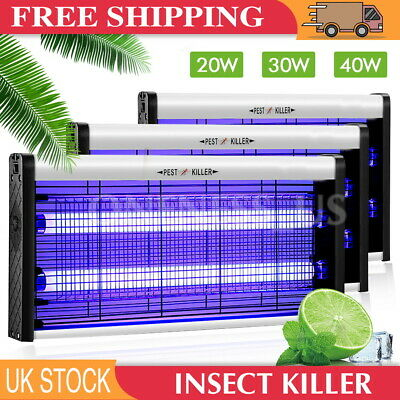 Electric Mosquito Fly Insect Killer Bug Zapper Trap Lamp Outdoor Indoor Light