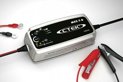 CTEK MXS 7.0 Battery Charger - Fully automatic 'connect and forget' charging