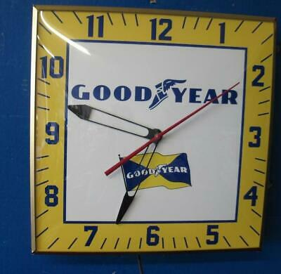 Vintage Pam Lighted Advertising GOOD YEAR Clock