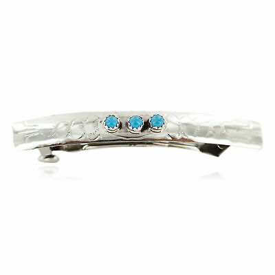 $400Tag Silver Hammered Certified Navajo Natural Turquoise Spiny Native Ring 16287 Made by Loma Siiva