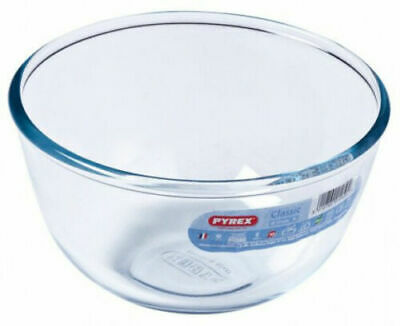 1 Ltr PYREX CLASSIC ROUND-SHAPED MIXING BOWL - FREE P&P.