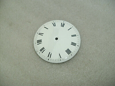 Antique Enamel 8.5cm Clock Dial