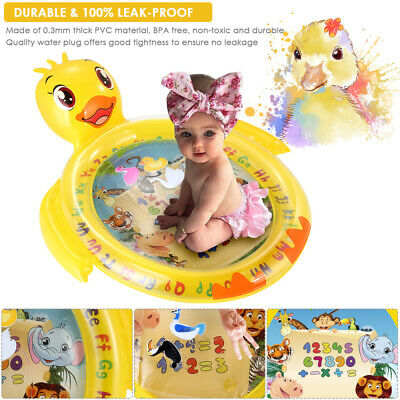 Tummy Fun Time Water Play Mat for Babies Infants Toddlers Stimulation Inflatable
