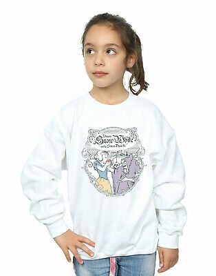 Disney Princess Girls Snow White Apple Bite Sweatshirt
