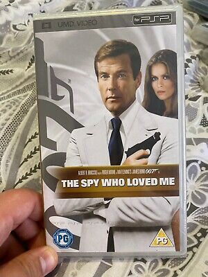 The Spy Who Loved Me (UMD, 2008) Brand new and Sealed