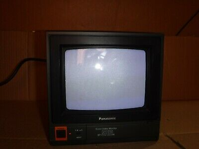 "Vintage Panasonic 7"" Model Bt-S702N Color Video Monitor"