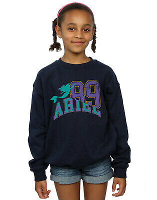 Disney Girls Princess Ariel Collegiate Sweatshirt