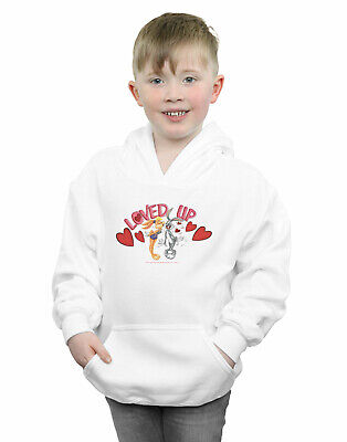 Looney Tunes Boys Bugs Bunny And Lola Valentine's Day Loved Up Hoodie