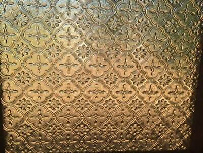 Vintage, antique, etched glass, feature, window, timber, collectible
