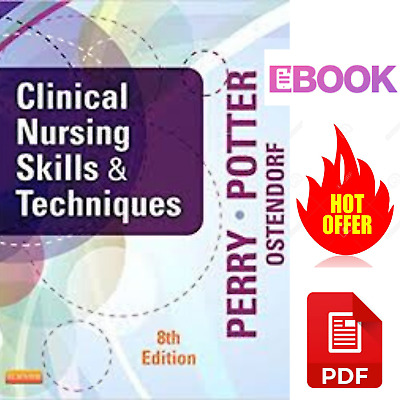 Clinical Nursing Skills and Techniques 🔥(P.-D-F 📥)🔥