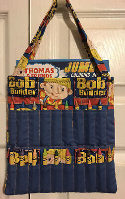 Bob the Builder crayon tote travel bag accesories gift